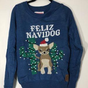 Tipsy Elves Christmas Sweater Feliz Navidog
